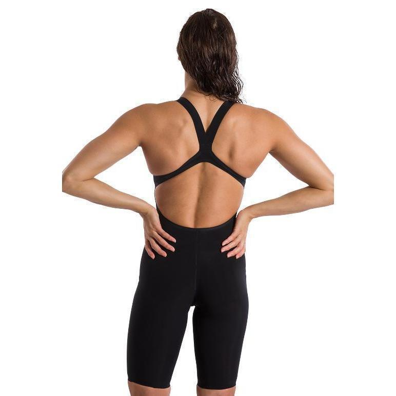 SPEEDO Fastskin LZR Pure Valor Women's Open Back - Black-TechSuits.ca