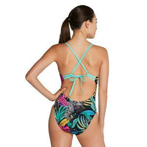 SPEEDO - Women and Girls Print - Tie Back-TechSuits.ca