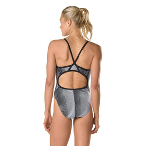 SPEEDO Women & Girl's Flyback - Hydro Amp in Black-TechSuits.ca