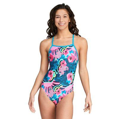 SPEEDO - Women's One Back Printed-TechSuits.ca