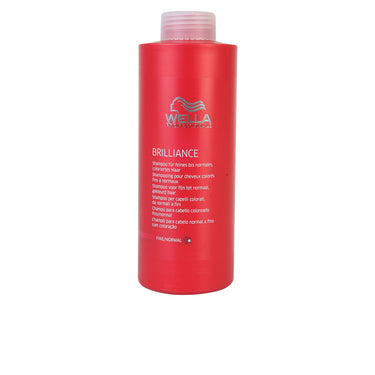 shampoing cheveux colorés brillance wella