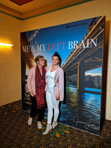 Jessica Lee at the Movie Premiere of Me & My Left Brain