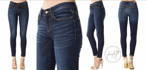Judy Blue Non Distressed Straight Skinny