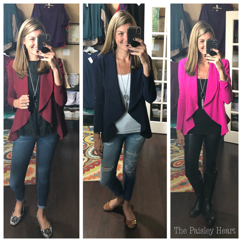 Blazer Beauty - Long Sleeve