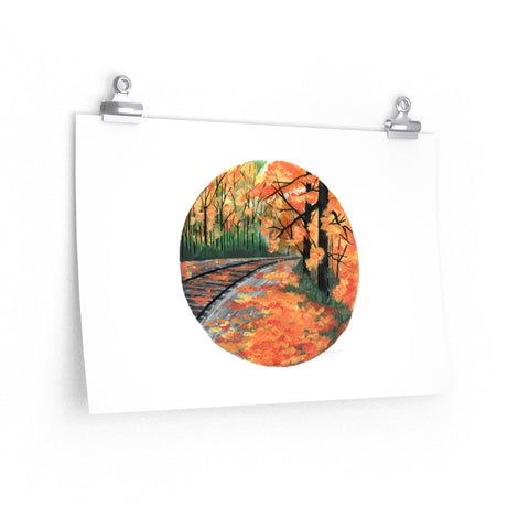 Uxbridge Trails - Print - caroartco
