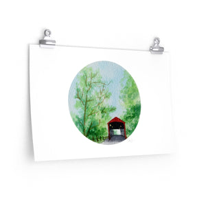 West Montrose Covered Bridge - Print - caroartco