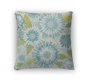 Throw Pillow, Floral Cute Pattern