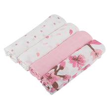 Flower Swaddle Four Pack