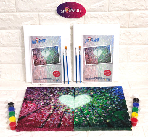 Enchanted Forest - Couples Paint Kit