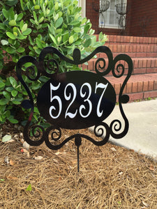 "14"" Address yard stake"