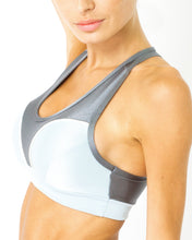 Copacabana Flex-Fit Racerback Sports Bra - Zinc