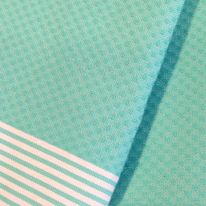 Honeycomb Turquoise - Beach Towel