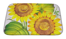 Bath Mat, Sunflowers