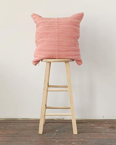 chindi pillow in peony
