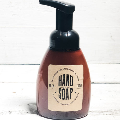 Natural Foaming Hand Wash- Black Pepper Bergamot - 3 Pack