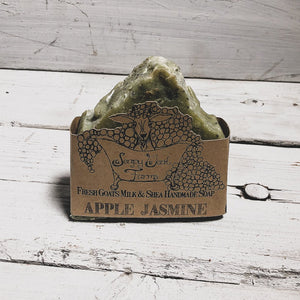 Artisan Goat's Milk Soap-Apple Jasmine - 3 Pack