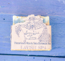 Artisan Goat's Milk Soap- Lavish Spa - 3 Pack