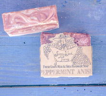 Artisan Goat's Milk Soap- Peppermint Anise - 3 Pack