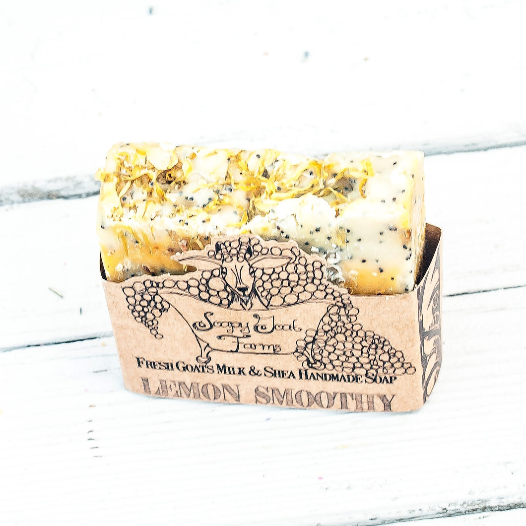 Artisan Goat's Milk Soap- Lemon Smoothy - 3 Pack
