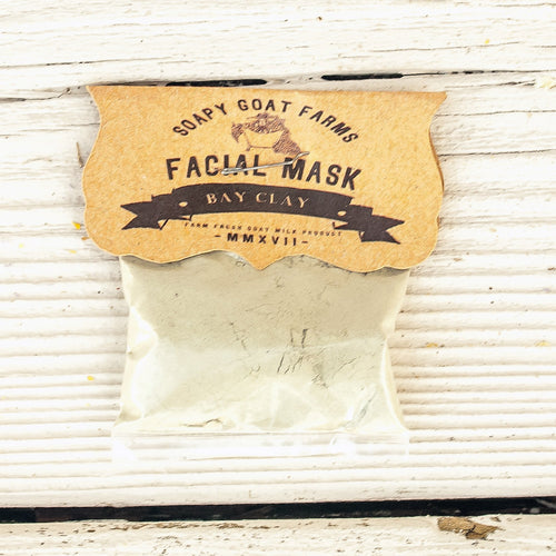 Goat's Milk Face Mask- Bay Clay - 3 Pack