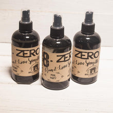 8.ZERO Room & Linen Spray - Plant Life, Teas and Spices Collection - 3 Pack