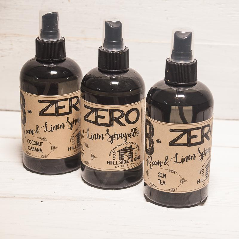 8.ZERO Room & Linen Spray - Rustic and Masculine Collection