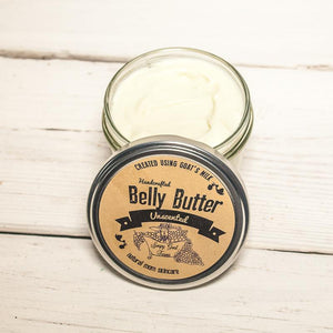 Goat's Milk Belly Butter - Unscented
