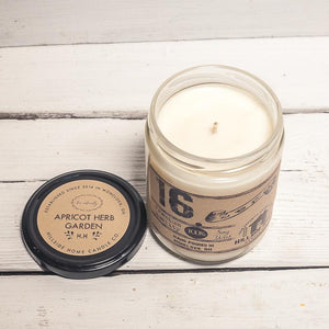 16.ZERO Soy Jar Candle - Rustic and Masculine Collection