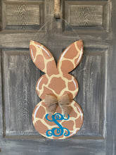 Rabbit Door Hanger or yard stake more colors available 26x13