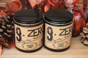 9.ZERO Hardwood Wick Amber Jar Candle- Fall Collection