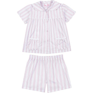 Girl's Braddock Pink Short + Shirt Set