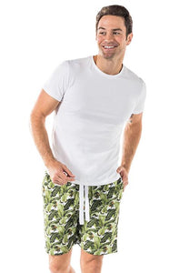 Men's Banana Leaf Sleep Shorts