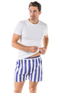 Men's Braddock Navy Boxer Shorts