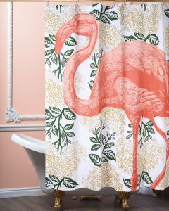 Flamingo Shower Curtain 72