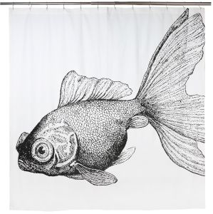 "Goldfish Shower Curtain 72""x72"""