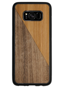 Slim Wooden Phone Case | Bamboo / Walnut Split