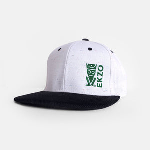 Corduroy Hat - White