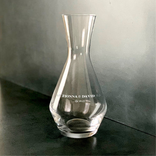 Custom Wine Decanters