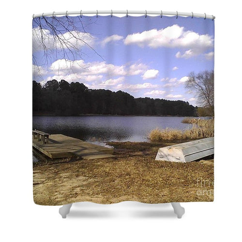 A Perfect Day - Shower Curtain