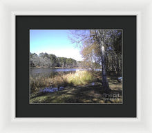 Beautiful Winter Day - Framed Print
