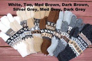 Deluxe Hand Knit Alpaca Gloves