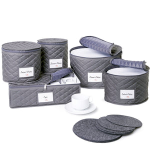 5-Piece Dinnerware Storage Set