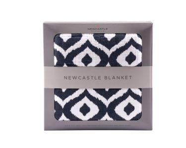Moroccan Blue Newcastle Blanket