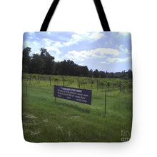 East Texas Vineyard - Tote Bag