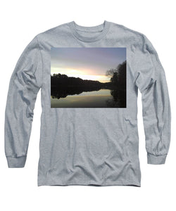 Evening At Lake - Long Sleeve T-Shirt