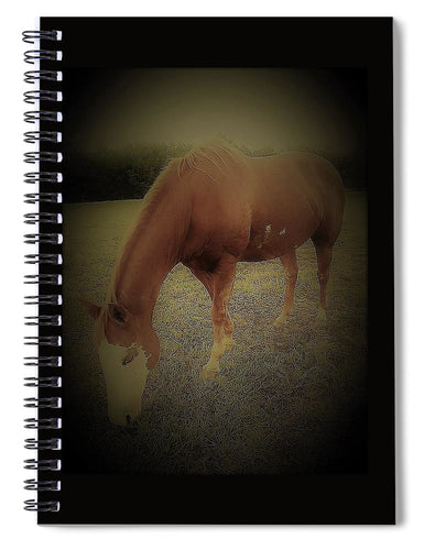 Glory -The Horse- Spiral Notebook