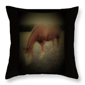 Glory -The Horse- Throw Pillow