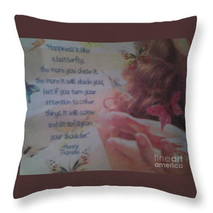 Happiness - Throw Pillow
