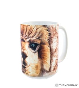 Alpaca Big Face Coffee Mug