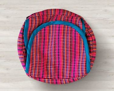 Pink Stripes Tortilla - Roti - Bread Basket